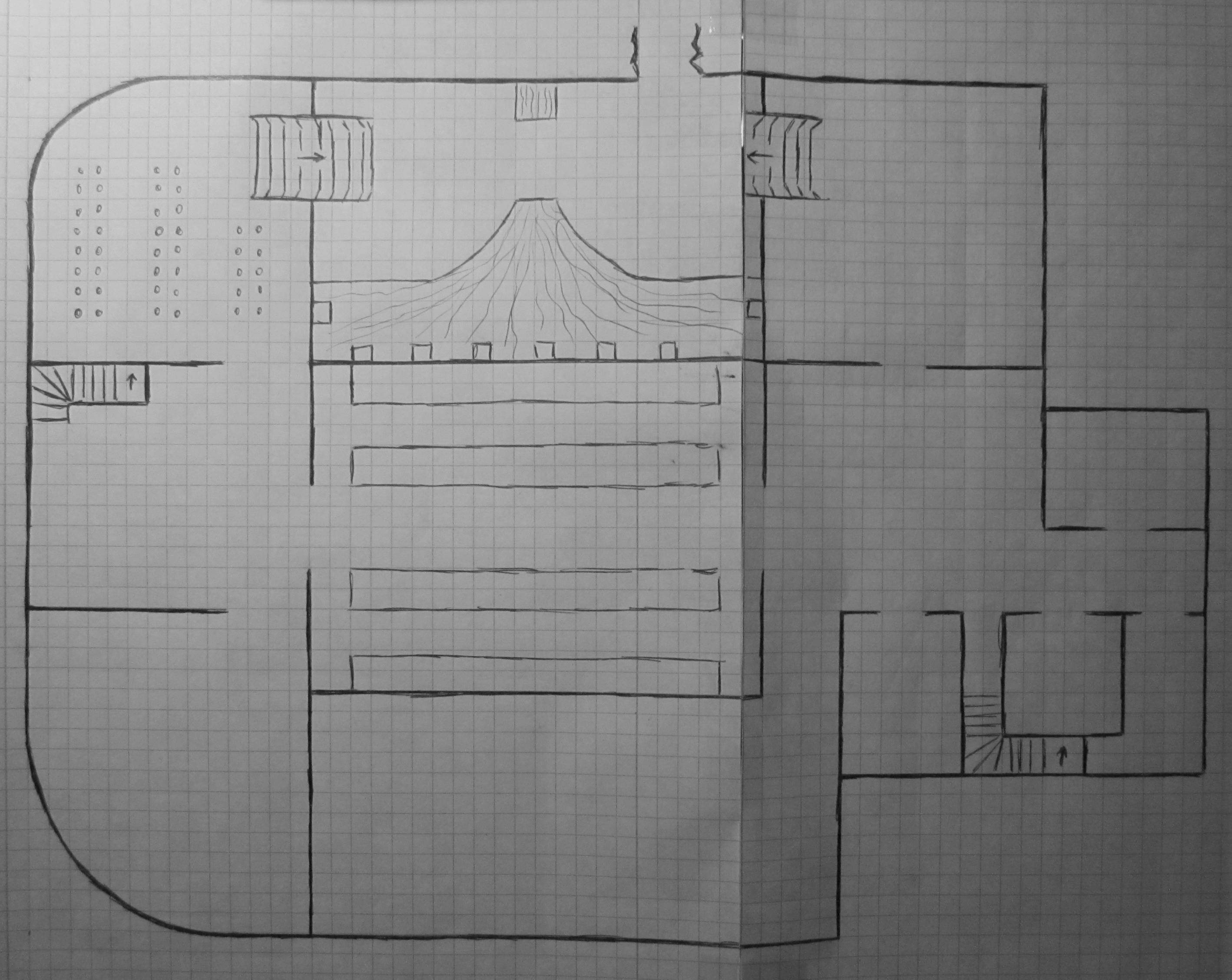 Das unterste Stockwerk des Anwesens der Familie Hasir
