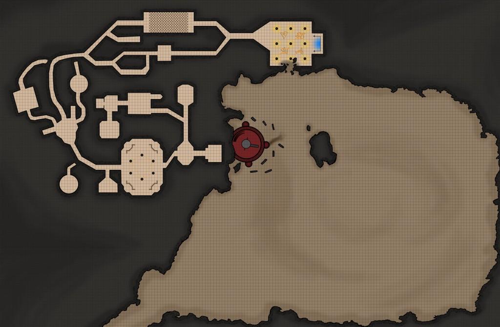 Die -endlich- vollständige Karte des Tempels und des zugehörigens Tals