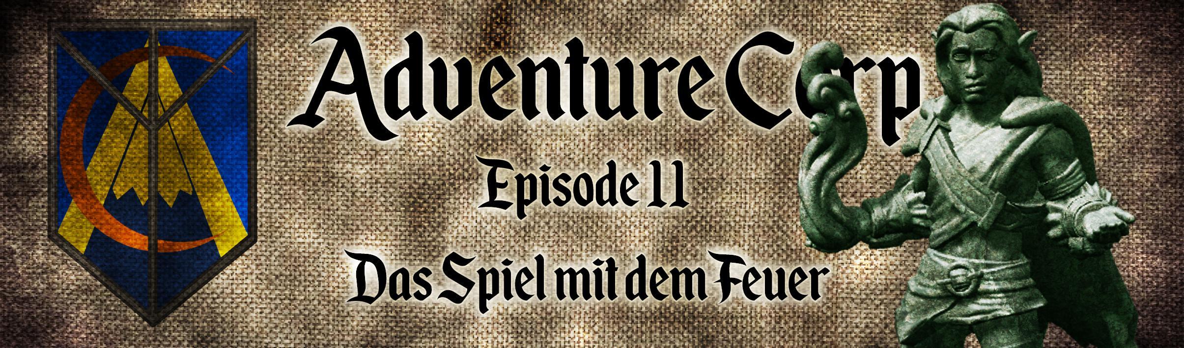 Adventure Corp - Banner Episode 11