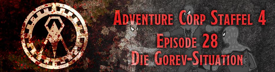 Banner zur Adventure Corp Staffel 4 Episode 28